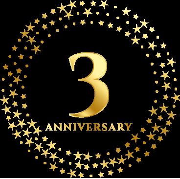 anniversary 3rd